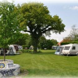 camping huis in 't veld
