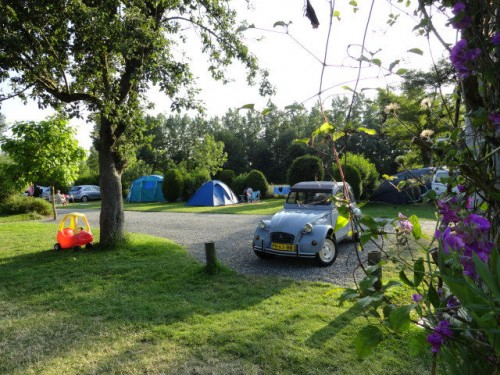 Top camping area