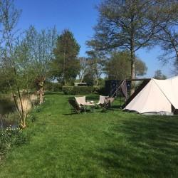 Familiecamping aan het IJsselmeer